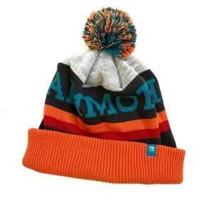 MAMMOTH Canada Multi Color Knit Pom Beanie